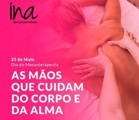 DIA DO MASSOTERAPEUTA – 25 DE MAIO